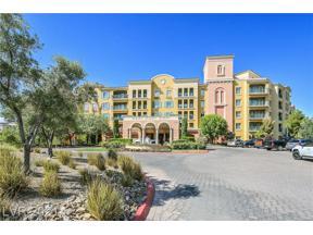 Property for sale at 30 STRADA DI VILLAGGIO 306, Las Vegas,  Nevada 89011