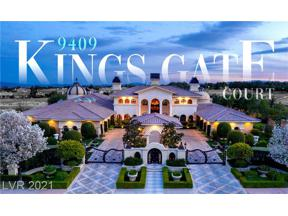 Property for sale at 9409 KINGS GATE Court, Las Vegas,  Nevada 89145