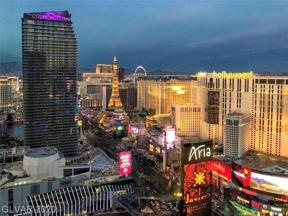 Property for sale at 3722 Las Vegas Boulevard Unit: 3405, Las Vegas,  Nevada 89158