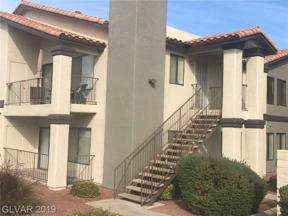 Property for sale at 1575 Warm Springs Road Unit: 1024, Henderson,  Nevada 89014