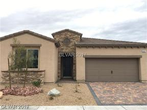 Property for sale at 907 Gallery Course Drive, Las Vegas,  Nevada 89148