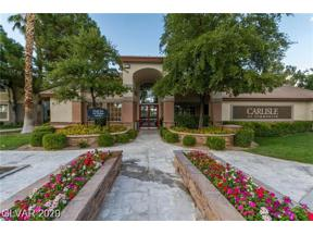 Property for sale at 1717 Queen Victoria Street Unit: 201, Las Vegas,  Nevada 89144