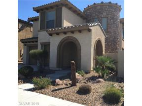 Property for sale at 261 Via Di Citta Drive, Henderson,  Nevada 89011