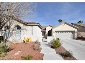 Property for sale at 1342 Temporale Drive, Henderson,  Nevada 89052
