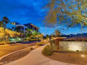 Property for sale at 11441 Allerton Park Drive 210, Las Vegas,  Nevada 89135