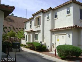 Property for sale at 1525 Spiced Wine Avenue 10101, Henderson,  Nevada 89074