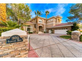 Property for sale at 1800 Glenview Drive, Las Vegas,  Nevada 89134