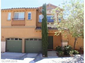 Property for sale at 1172 Via Trevi, Henderson,  Nevada 89052