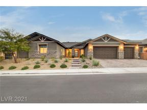 Property for sale at 11161 Luna Blanca Drive, Las Vegas,  Nevada 89138