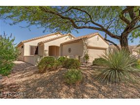 Property for sale at 2309 Fossil Canyon Drive, Henderson,  Nevada 89052