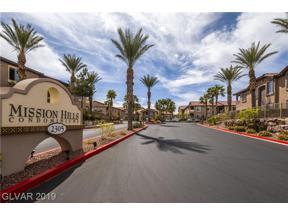 Property for sale at 2305 Horizon Ridge Unit: 712, Henderson,  Nevada 89052