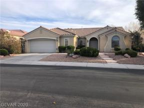 Property for sale at 2868 SUMTER VALLEY Circle, Henderson,  Nevada 89052