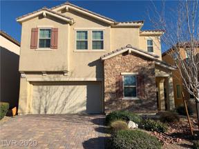 Property for sale at 244 Garden Trellis Court, Las Vegas,  Nevada 89148