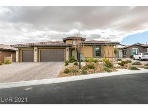 Property for sale at 268 Tarragona Breeze Avenue, Las Vegas,  Nevada 89138