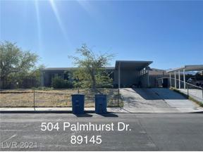 Property for sale at 504 Palmhurst Drive, Las Vegas,  Nevada 89145