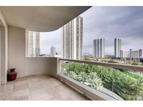 Property for sale at 2857 Paradise Road Unit: 703, Las Vegas,  Nevada 89109