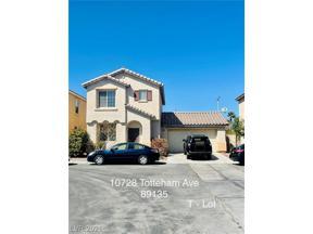 Property for sale at 10728 Tottenham Avenue, Las Vegas,  Nevada 89135