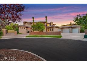 Property for sale at 39 Vintage Canyon Street, Las Vegas,  Nevada 89141