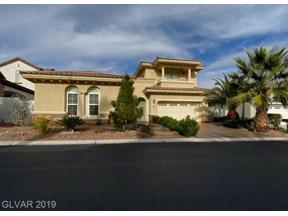 Property for sale at 1978 Alcova Ridge Drive, Las Vegas,  Nevada 89135