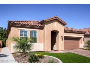 Property for sale at 1097 Via Della Curia, Henderson,  Nevada 89011