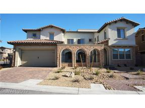 Property for sale at 382 Messina Strait Street, Las Vegas,  Nevada 89138