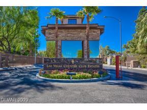 Property for sale at 3047 BEL AIR Drive, Las Vegas,  Nevada 89109