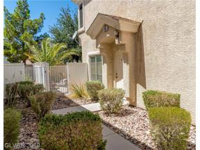 Property for sale at 5983 Trickling Descent Street Unit: 103, Henderson,  Nevada 89011