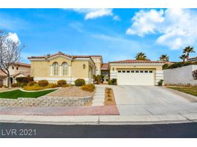 Property for sale at 2992 Via Meridiana, Henderson,  Nevada 89052