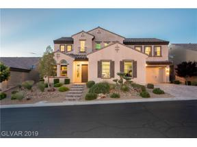Property for sale at 2452 Chateau Napoleon Drive, Henderson,  Nevada 89044