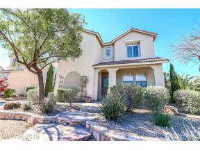 Property for sale at 3031 Via Sarafina Drive, Henderson,  Nevada 89052