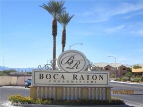 Property for sale at 2455 Serene Avenue Unit: 551, Las Vegas,  Nevada 89123