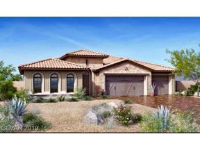 Property for sale at 99 Basque Coast Street, Las Vegas,  Nevada 89138