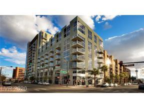 Property for sale at 353 E BONNEVILLE Avenue 602, Las Vegas,  Nevada 89101