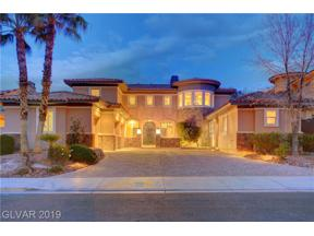 Property for sale at 20 Grand Miramar Drive, Henderson,  Nevada 89011
