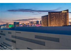Property for sale at 2747 PARADISE Road 2306, Las Vegas,  Nevada 89109
