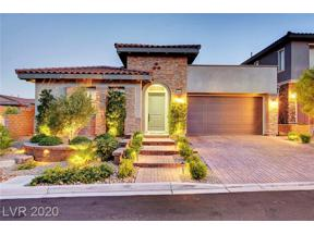 Property for sale at 11833 Bragno Court, Las Vegas,  Nevada 89138