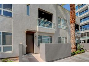 Property for sale at 4555 Dean Martin Drive Unit: 102, Las Vegas,  Nevada 89103
