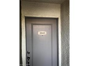 Property for sale at 3151 Soaring Gulls Drive Unit: 2043, Las Vegas,  Nevada 89128