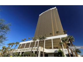 Property for sale at 2000 Fashion Show Drive 4422, Las Vegas,  Nevada 89109