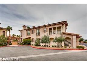 Property for sale at 10 Via Vasari Unit: 103, Henderson,  Nevada 89011