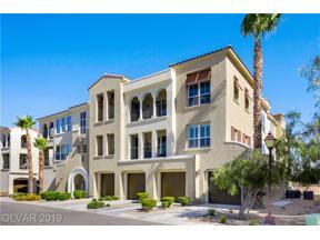 Property for sale at 2555 Hampton Road Unit: 5307, Henderson,  Nevada 89052