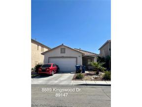 Property for sale at 8889 Kingswood Drive, Las Vegas,  Nevada 89147