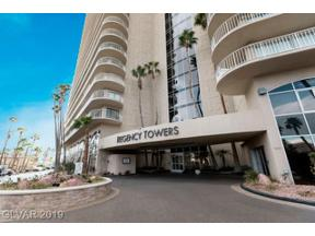 Property for sale at 3111 Bel Air Drive Unit: 6A, Las Vegas,  Nevada 89109