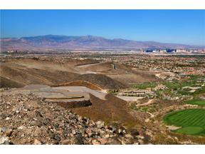 Property for sale at 780 Dragon Ridge Drive, Henderson,  Nevada 89012
