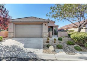 Property for sale at 2625 Chateau Clermont Street, Henderson,  Nevada 89044