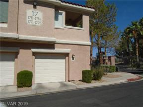 Property for sale at 251 Green Valley Unit: 1714, Henderson,  Nevada 89012