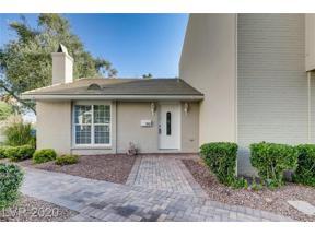 Property for sale at 986 Tam O Shanter, Las Vegas,  Nevada 89109