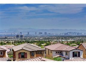 Property for sale at 100 Alamere Falls Drive, Las Vegas,  Nevada 89138