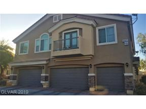 Property for sale at 9965 Government Point Way Unit: 102, Las Vegas,  Nevada 89183