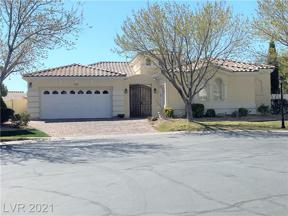 Property for sale at 1148 Piazza Navona, Henderson,  Nevada 89052
